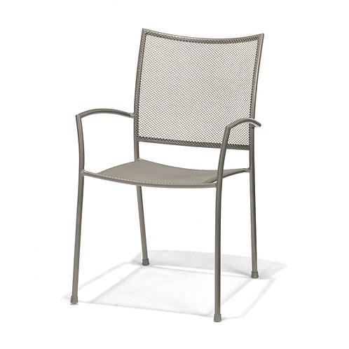 Krzeslo ogrodowe - aluminium