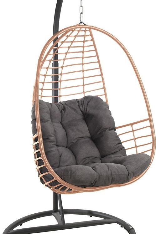 Fotel z  technorattanu jasny  Malwa 33