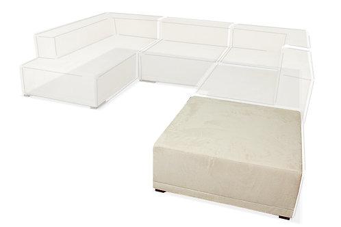 Sofa modułowa - Pufa 100x100