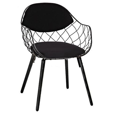 Fotel DEMON czarny