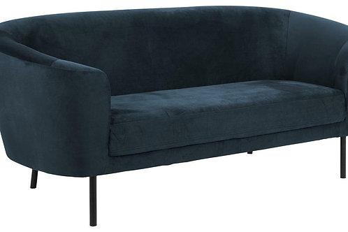 Sofa 3 osobowa  ciemno niebieska Lary 33
