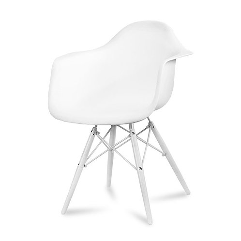 Krzesło designerskie White  11