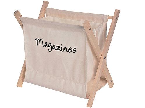 Designerski gazetnik Beż