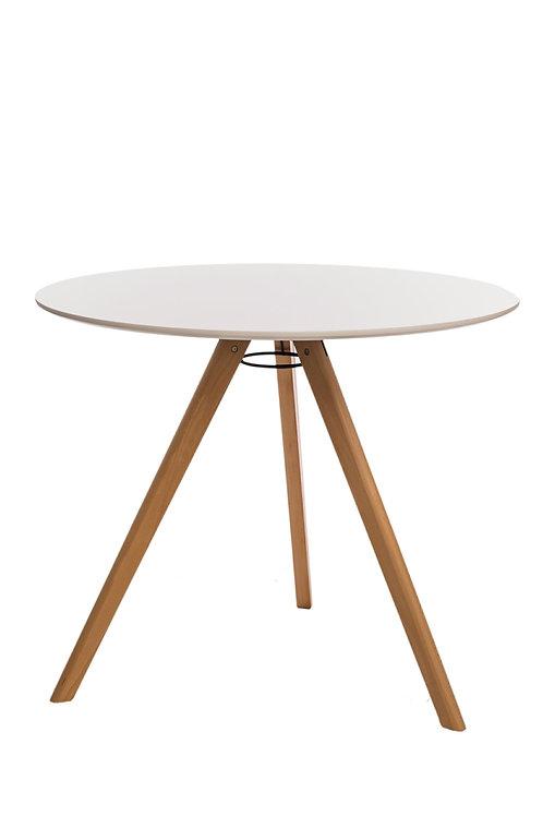 Okrągły biały stół Aurelia 11