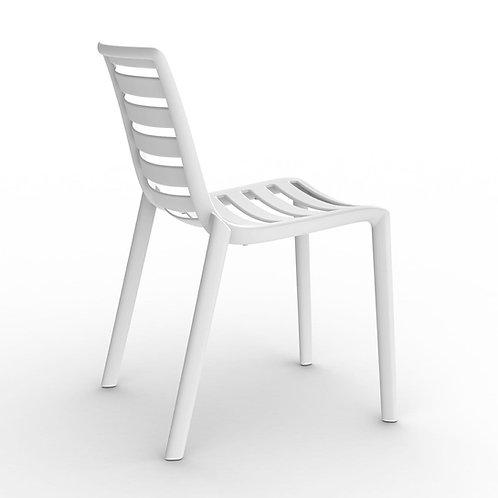 Krzesło białe Zebra 11
