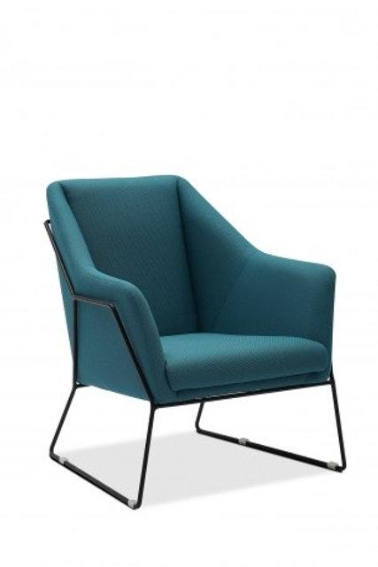 Fotel niebieski  Sylwia  33
