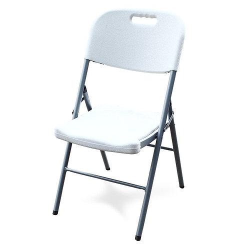 Krzesło białe cateringowe składane