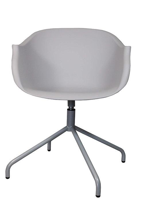 Krzesło obrotowe Berti - szare