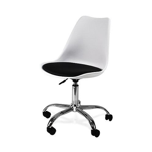 Krzesło obrotowe Białe 5