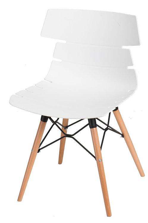 Krzesło Artus - czarne - białe - szare