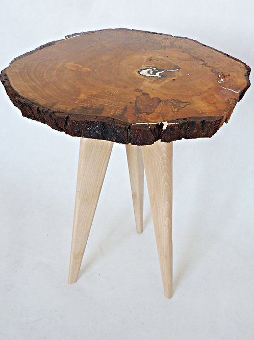Hand Made - Wooden Slice Table