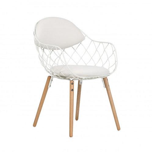 Krzesło białe  Elza