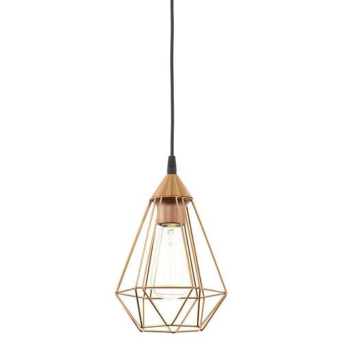 Lampa ażurowa - Copper Cage II