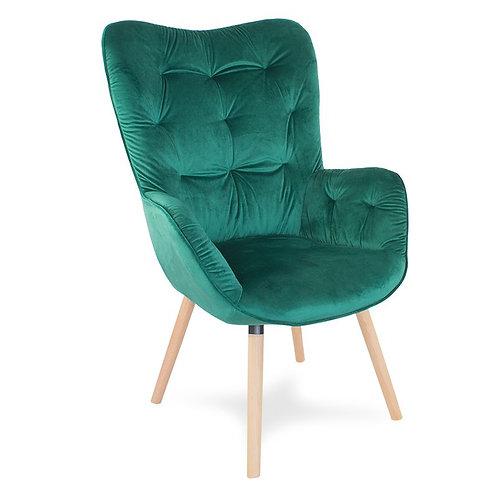 Fotel uszak zielony  Paris 3