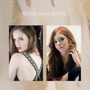 MODEL HEAD SHOTS