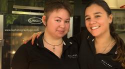 Staff at Village Express Cafe.