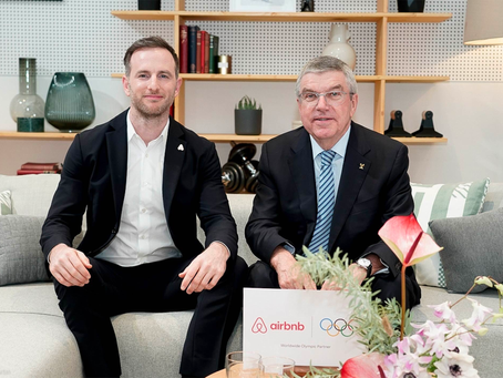 La plateforme Airbnb partenaire mondial des Jeux Olympiques