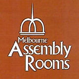 Melbourne Assembly Rooms square logo red