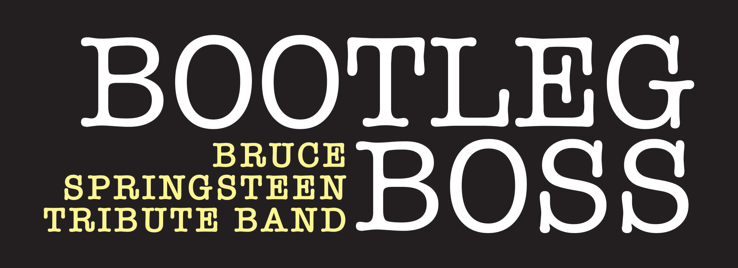 Bootleg Boss Logo - Black and White 2