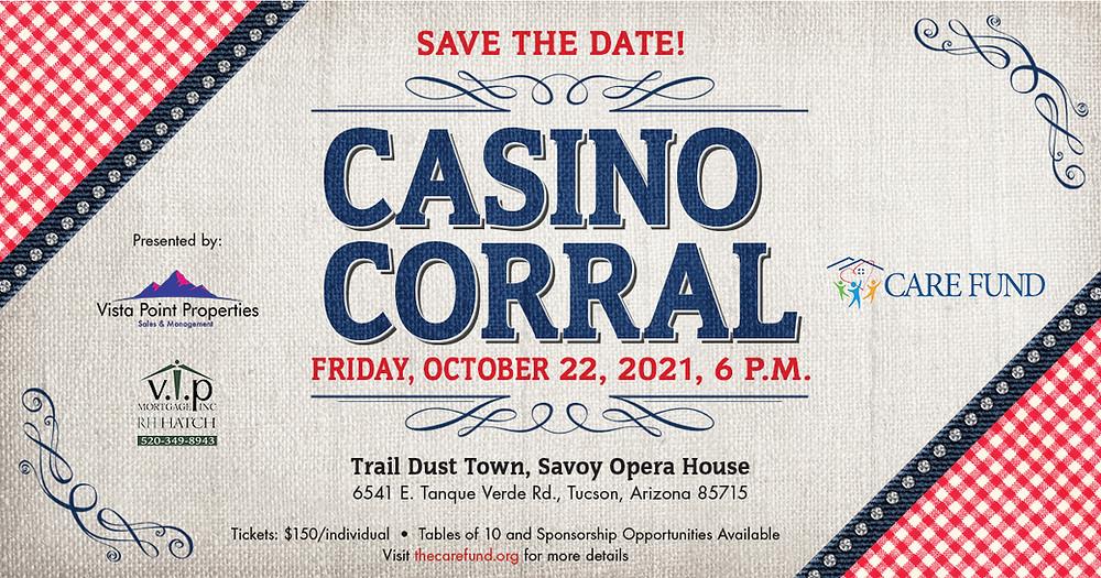Care Fund Casino Corral in Tucson