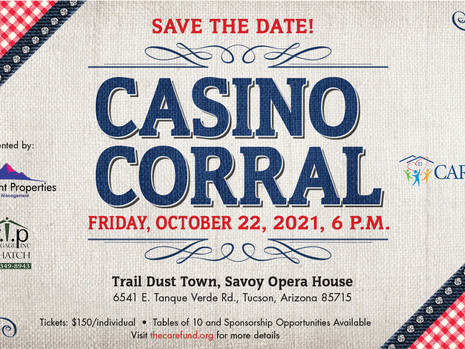 Join Us at Casino Corral in Tucson!