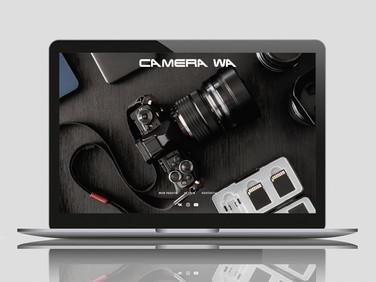 Сайт видеографа Camera WA