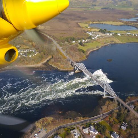 Connel Bridge & The Falls of Lora