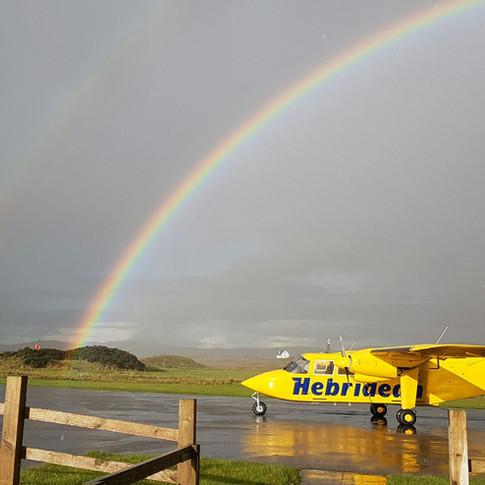 Rainbow on Coll