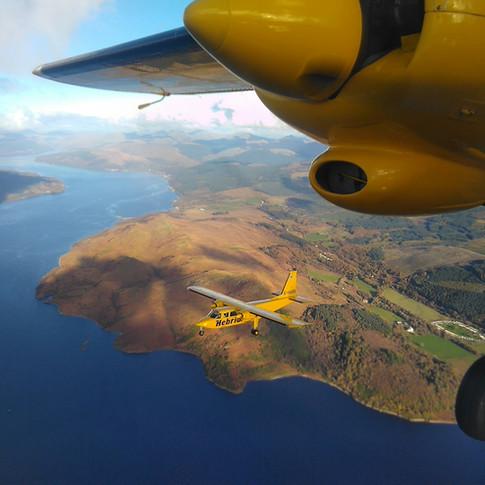 Going home post charter flights