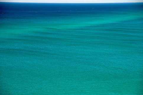 Calming colours of the ocean