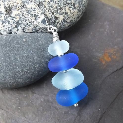 Little Piece of St Ives Stack Pendant