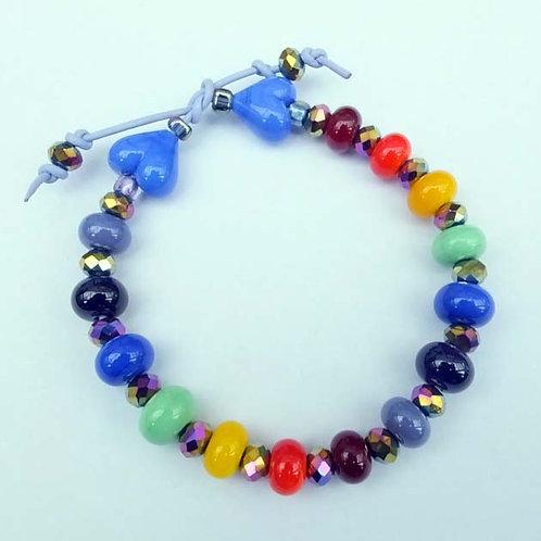 Rainbow Heroes - Fundraiser Bracelet - Sunny Days