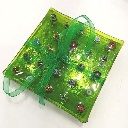 Set of Four Lime Coasters