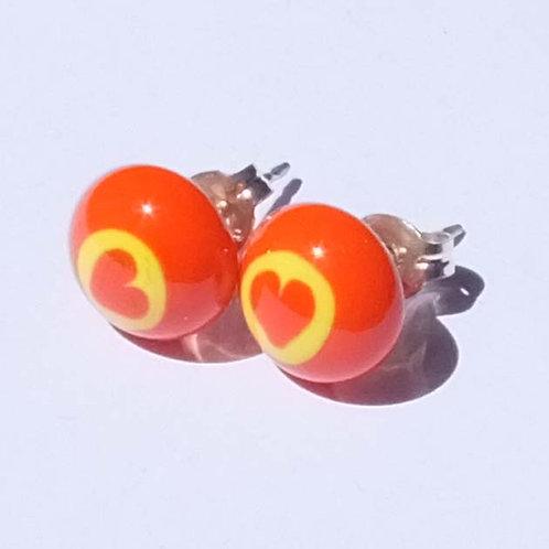 Murrini Stud Earrings
