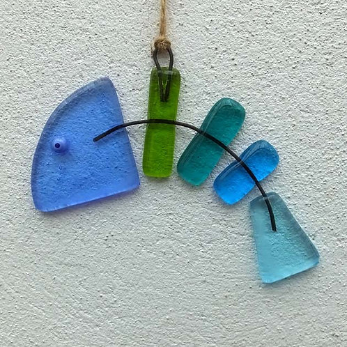 Fishbones Suncatcher