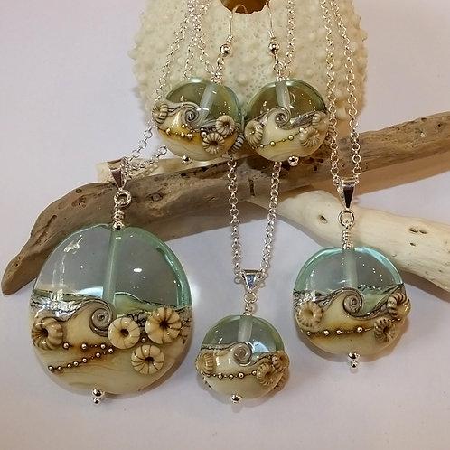Aqua Beachy Barnacles Jewellery Range
