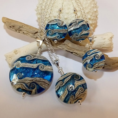 Sea Glints (Aqua) Jewellery Range