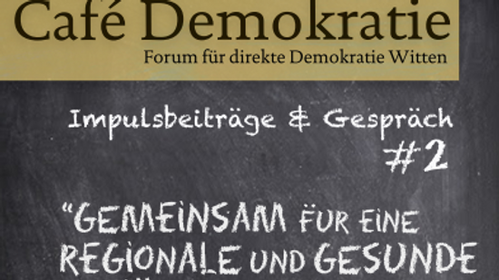 Cafe Demokratie