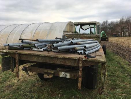 Urban Farming: Aufruf Aufbau Folientunnel