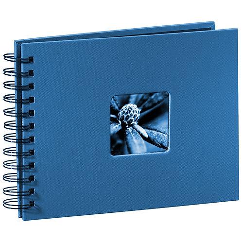 """Hama """"Fine Art"""" Spiral azur 24x17 50 schwarze Seiten 113677"""