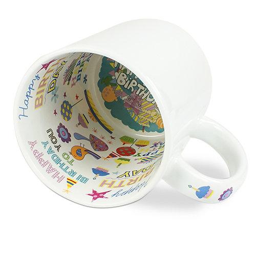 Geburtstag Keramiktasse mit Wunschtext oder Wunschbild