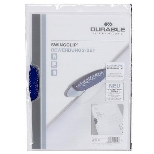 "Durable Bewerbungsmappe ""Swingclip"" inkl. Kuvert"