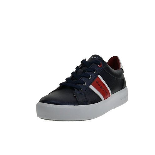 Bugatti Damen Sneaker blau/rot