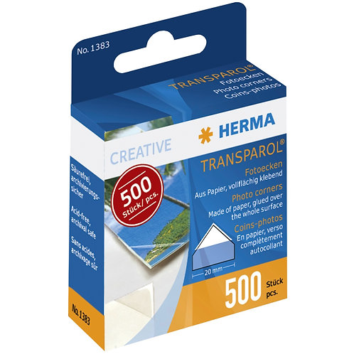 Herma Fotoecken 500 Stück Spendepackung 1383