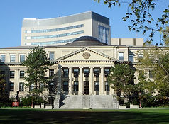 Photo of Tabaret Hall and Demerais Building at the University of Ottawa