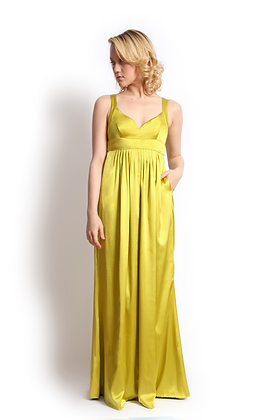 dk1209G strappy back reversible gown