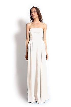 dk1304B strapless reversible bridal gown