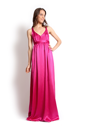 dk1208 cross back reversible gown
