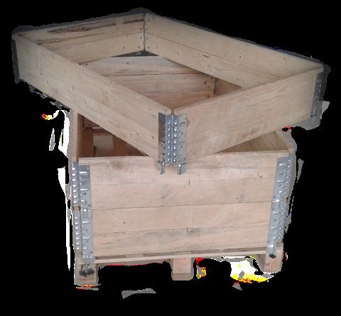 Colares de madeira