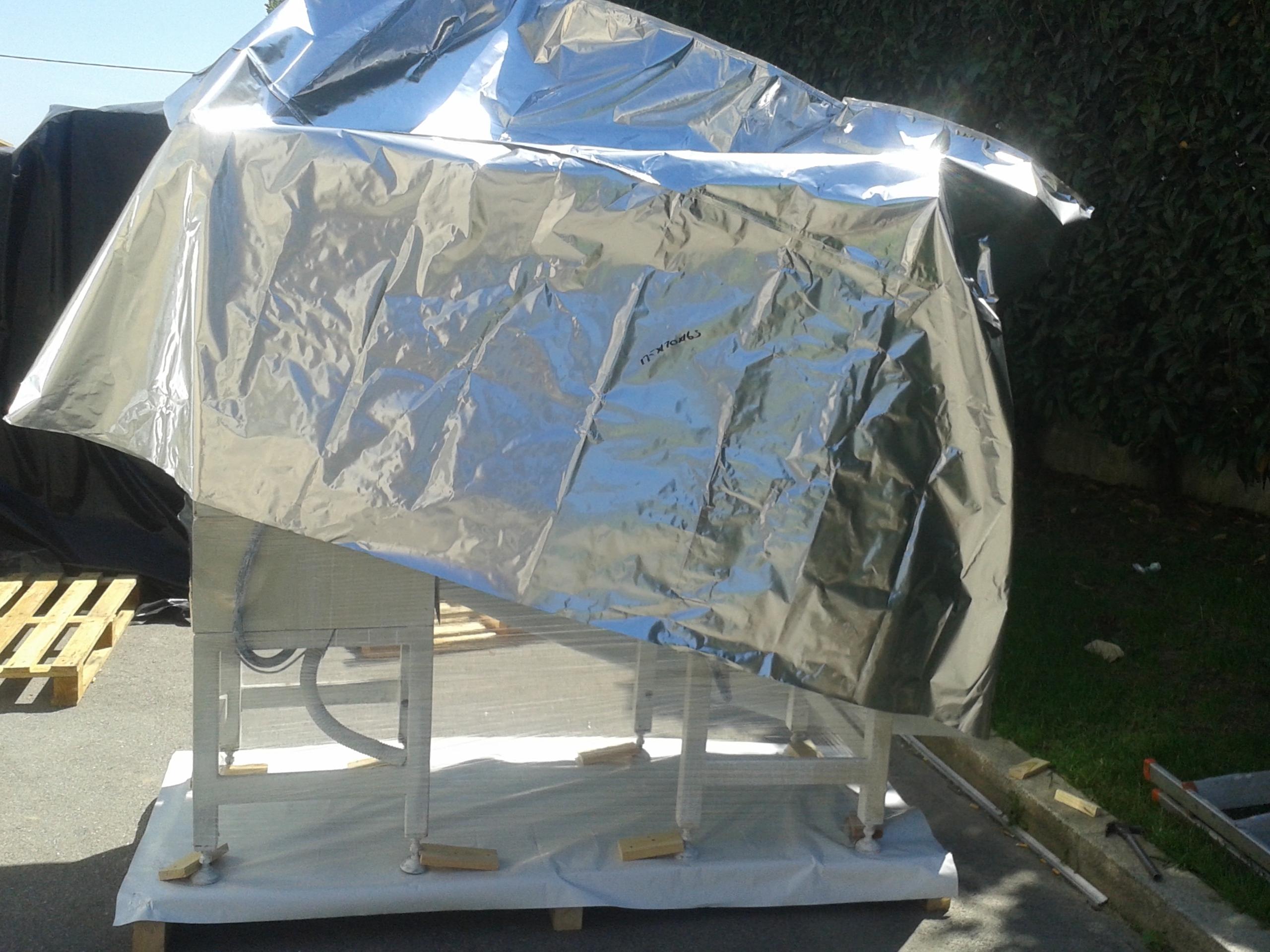Saco de aluminio